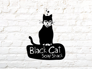 Black Cat Soap Shack Branding