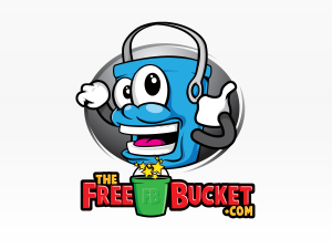 The Free Bucket Branding Illustration
