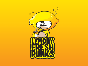 Lemony Fresh Punks Branding