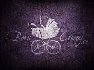 Born Creepy Co. Logo Poster