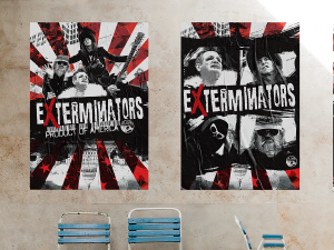Exterminators Product of America Poster