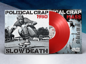 Political Crap - Slow Death 1980 Single